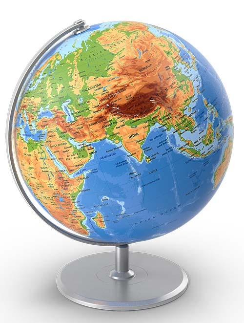 Globe locations
