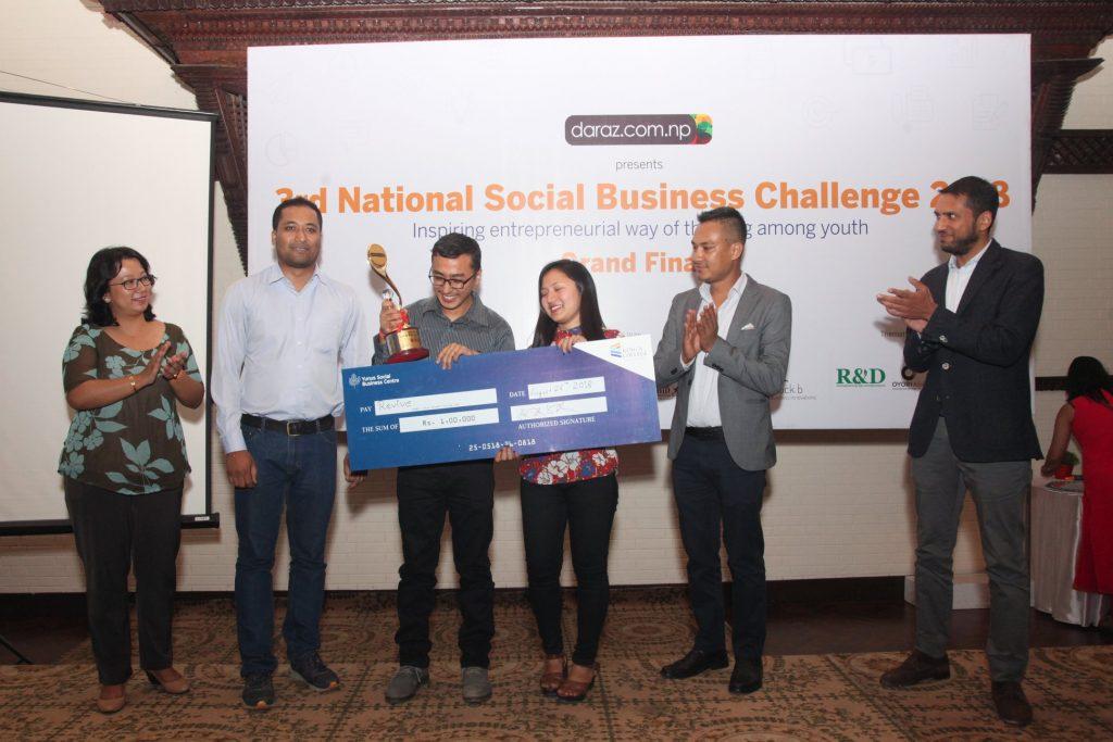Winner 3rd National Social Business Challenge