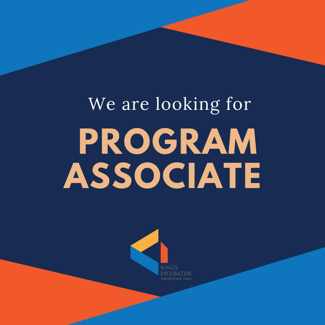Vacancy for Program Associate
