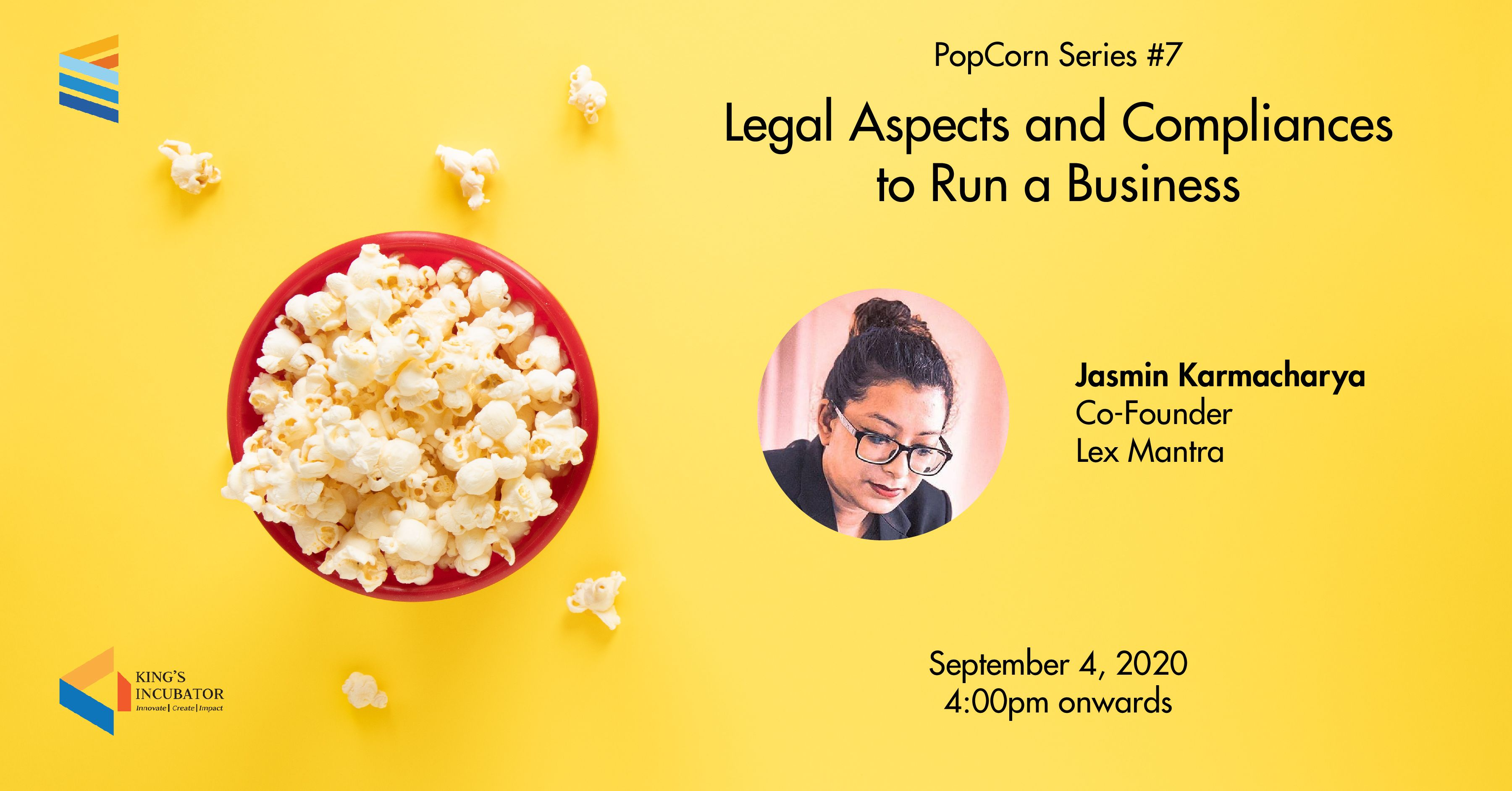 PopCorn Series 7: Legal Aspects and Compliances to Run a Business
